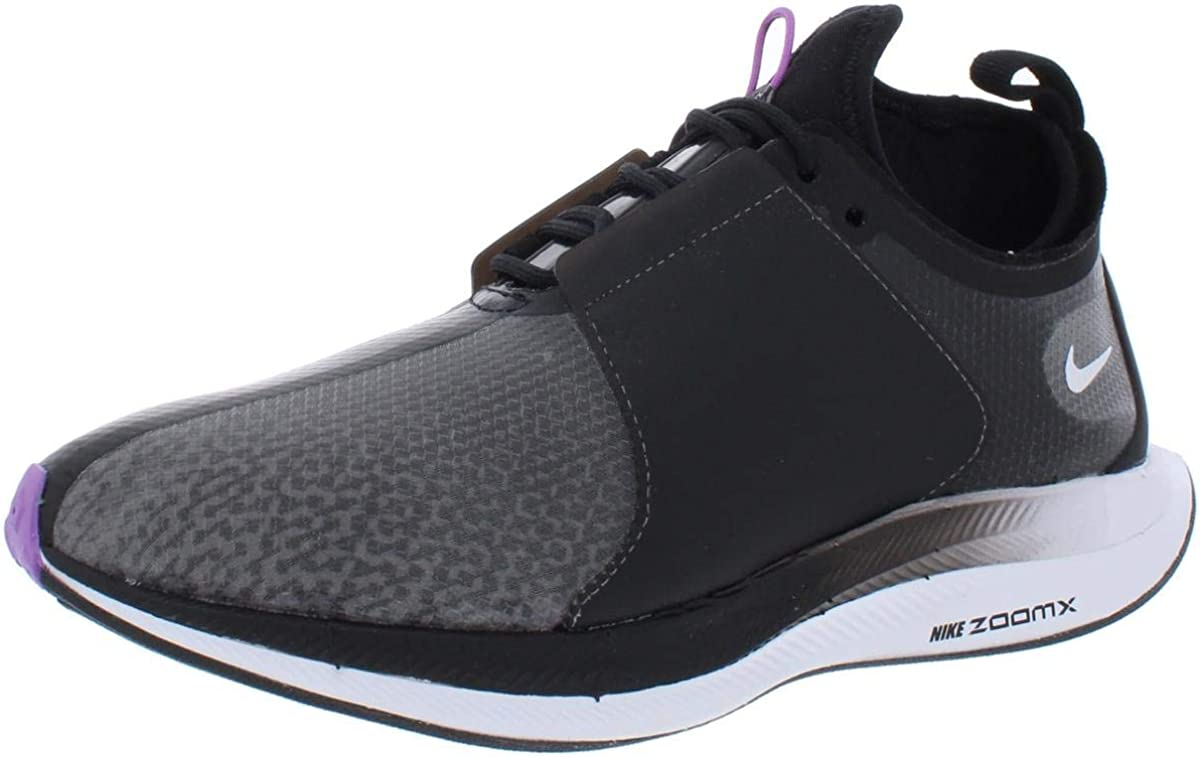 Nike Wmns Zoom Pegasus Turbo XX, Zapatillas de Running para Mujer, Multicolor (Black/Bright Violet/White 001), 43 EU: Amazon.es: Zapatos y complementos