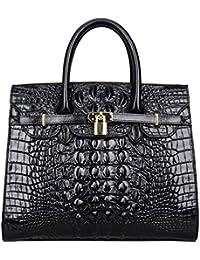 Women Purses And Handbags Crocodile Top Handle Satchel Bags Designer Handbags