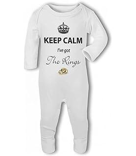 Baby Bib Plumber Keep Calm my Daddy // Mummy is a .. funny