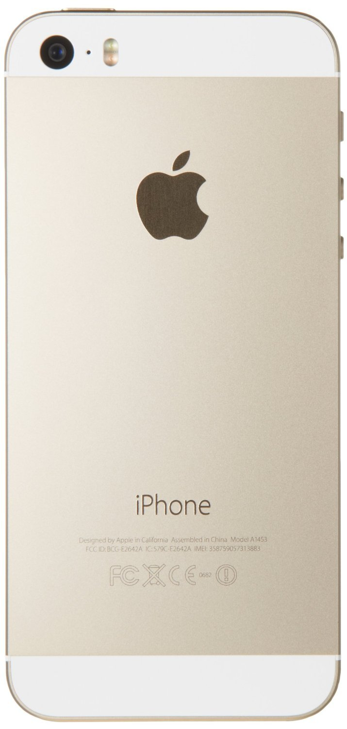 Apple iPhone 5S Gold 16GB AT&T Smartphone (Certified Refurbished)