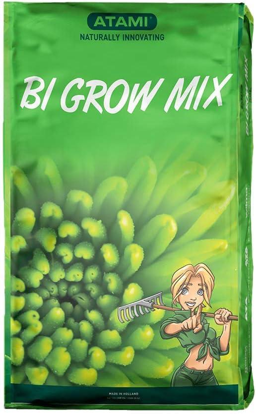 Sustrato para el cultivo en Tierra de Atami Bi Grow Mix (50L)