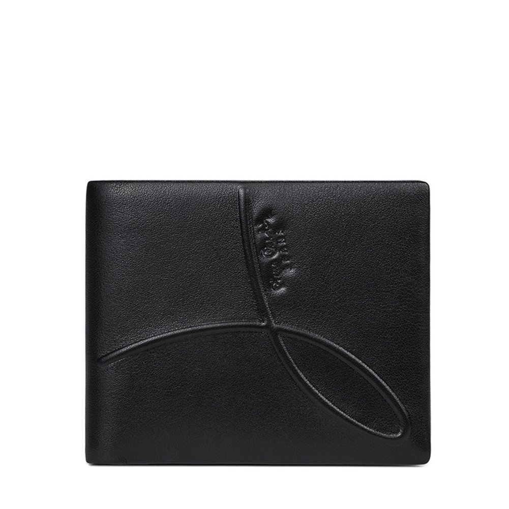 Men's Wallet,Extra Capacity Leather Bifold Wallet Business Stylish-A 12x10cm(5x4inch)