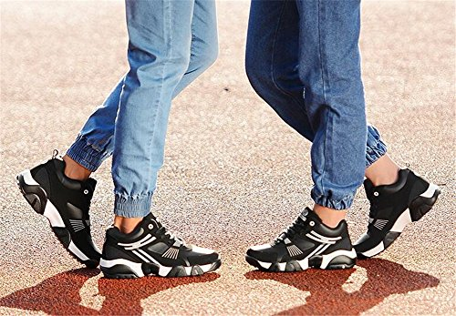 Shoes Increase Sneakers Sneakers Flat Polyurethane G Color Height Plus Casual Shoes Jiang Cashmere Sneakers Lovers Tidal Fall 42 Heel Or Size PU Spring Conventional Shoes Women's 5wqY11x07
