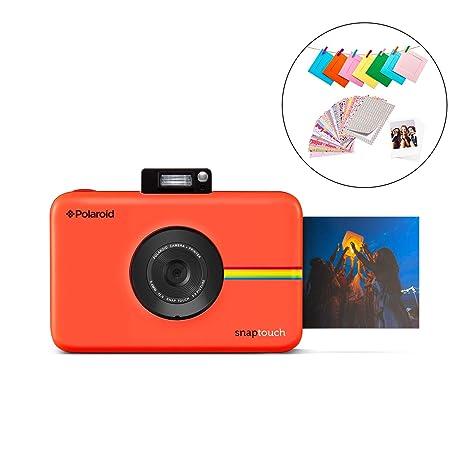 Polaroid Snap Touch 2.0 - Cámara digital portátil instantánea de 13 Mp, Bluetooth, pantalla