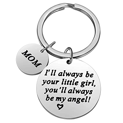 Amazon.com Christmas Gifts for Family Member Grandma Grandpa Mom Dad Sister Brother Keychain Key Ring Love Funny Gifts (Mom My Angel) Office Products  sc 1 st  Amazon.com & Amazon.com: Christmas Gifts for Family Member Grandma Grandpa Mom ...