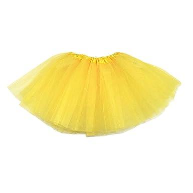 143c77d0e826 TOOGOO(R) Kids Girls Modern Ballet Dressing Fairy Tutu Skirt Yellow ...