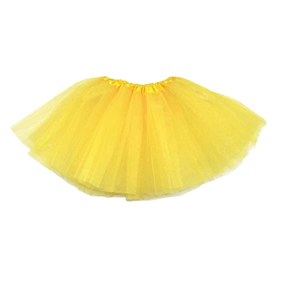 TOOGOO Vestido de ballet moderno de hadas de falda amarilla ...
