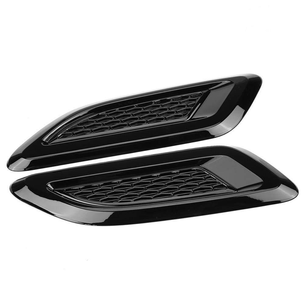 Nero Aeloa Parapetto Esterno-Esterno for Cofano Presa dAria Presa dAria Parafango Compatibile con Land Rover Range Rover Evoque 2012-2018 Colore : Black