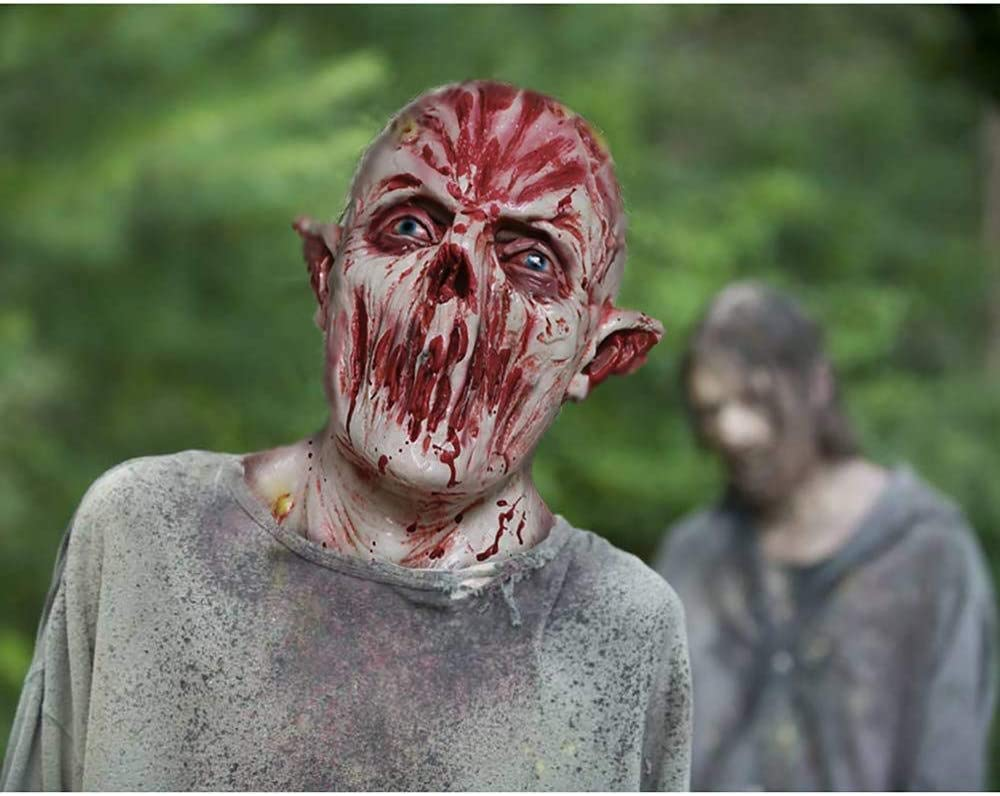 Decorazioni Horror Maschera A2 Maschera Zombie in Lattice biochimici Mostro Maschera Vestito da Carnevale Halloween Carnevale A2 Lattice