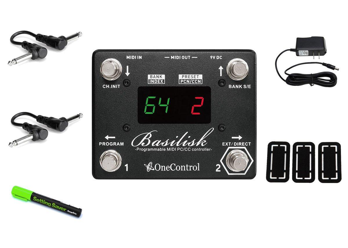 One Control Basilisk Programmable Midi Controller PRYMAXE PEDAL BUNDLE