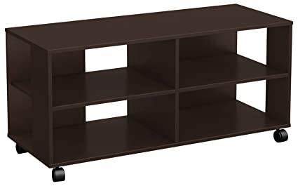 South Shore Jambory TV Stand Storage Unit On Casters   Fits TVs Up To 48u0027