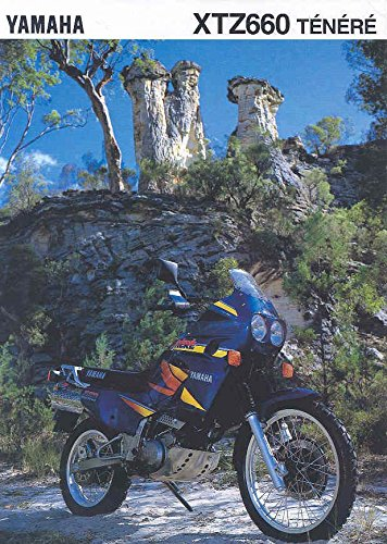 1994 Yamaha XTZ660 Tenere Motorcycle Brochure Germany