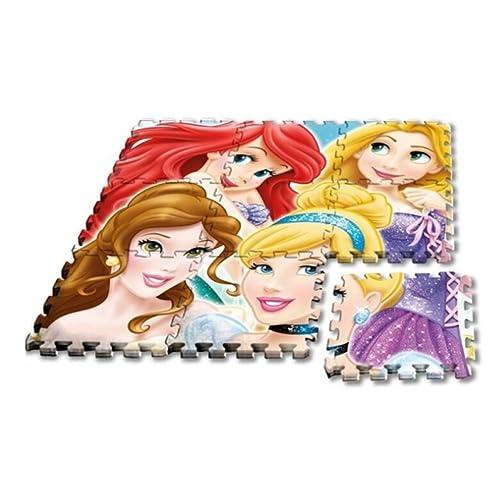 Kids Licensing - Disney Un Tapis en Mousse Princess Au Format Puzzle, WD17630