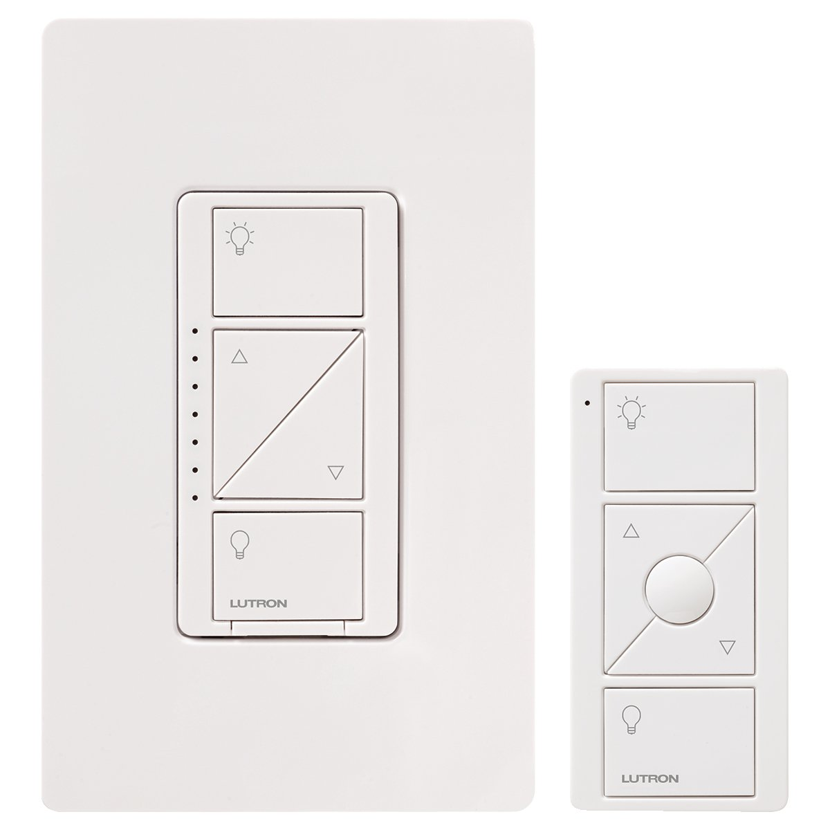 Lutron Caseta Wireless Smart Lighting Dimmer Switch And Remote Kit Mar Wiring Diagram For Wall Ceiling Lights P Pkg1w Wh C White Works With Alexa Switches