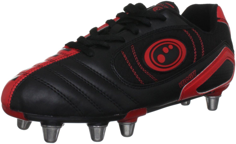 Optimum Velocity Rugby Boots - 12 - Black