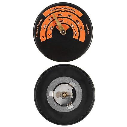 Termómetro magnético para horno, temperatura de 0 a 500 ℃, monitor de temperatura,