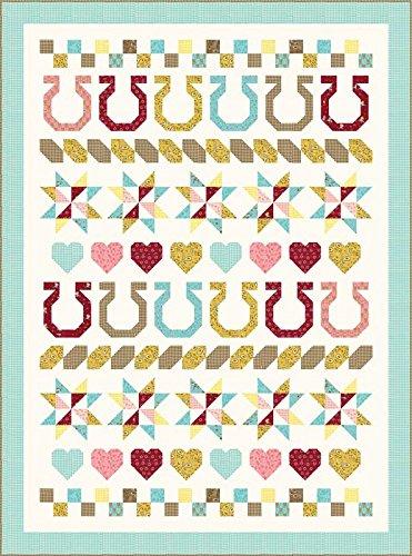 Stacy Iest Hsu Howdy Giddy Up Quilt Kit Moda Fabrics KIT20550