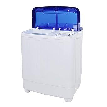 Amazon.com: ZOKOP lavadora, XPB50-RS5 16 lb, semiautomática ...