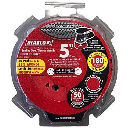 DCD050180H50G Hook Lock Dsc 5'180G 50P Diablo