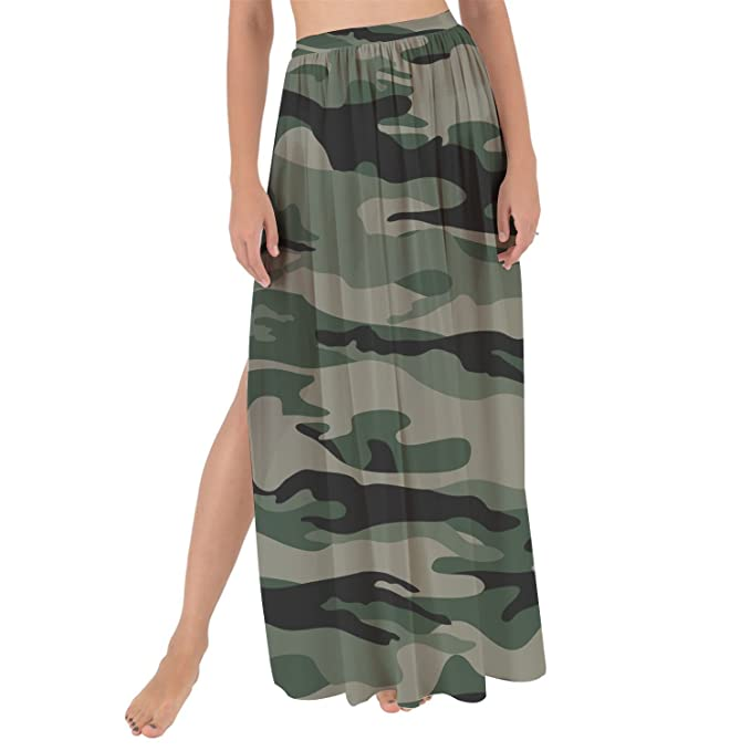 Amazon.com: Queen of cases Militar de Camuflaje Maxi Pareo ...