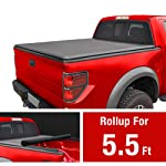 2. MaxMate Roll Up Truck Bed Tonneau Cover Works 2009-2014 Ford F-150