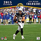 Turner Perfect Timing 2015 San Diego Chargers Team Wall Calendar, 12 x 12 Inches (8011711)