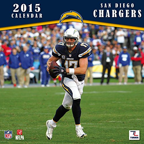 (Turner Perfect Timing 2015 San Diego Chargers Team Wall Calendar, 12 x 12 Inches (8011711))