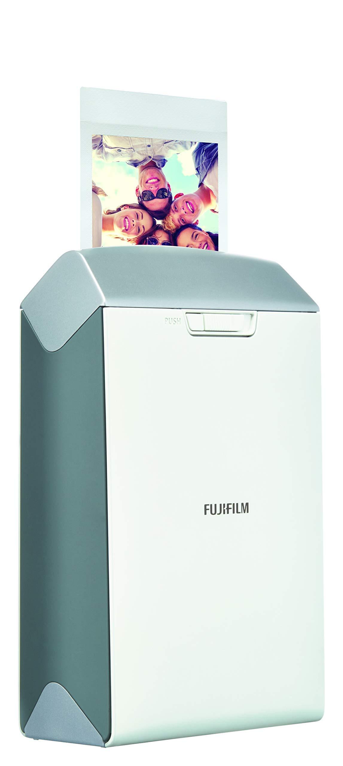 Fujifilm INSTAX Share SP-2 Mobile Printer (Silver) (Renewed)