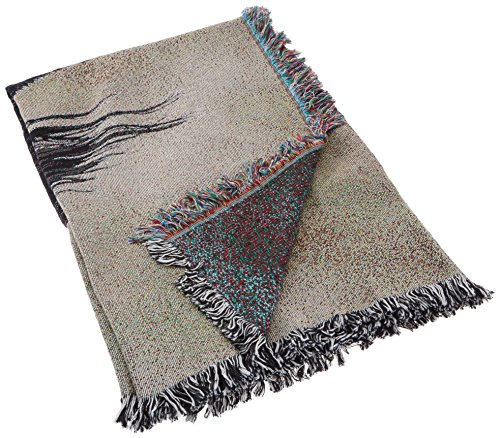 Pure Country 1191-LS Saluki Pet Blanket, Canine on Beige Background, 54 by 54-Inch