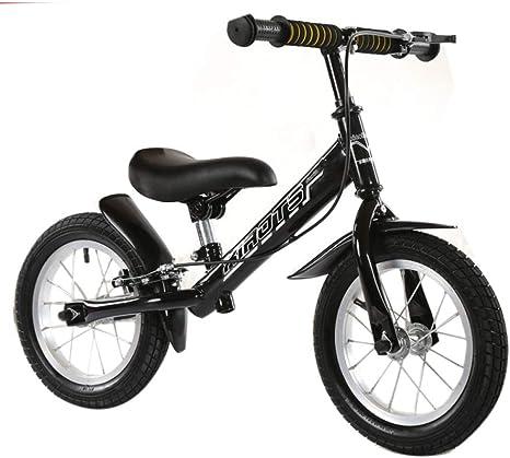 TH - Bicicleta Sin Pedales Balance Bike, con Freno De Mano, Marco ...
