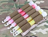 AIRSOFT LIGHT GLOW STICK MOLLE POUCH CHEST RIG BELT PYRO AOR1 HOLDER