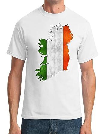 De Irlanda de la bandera de Map irlandés - infantil con ...