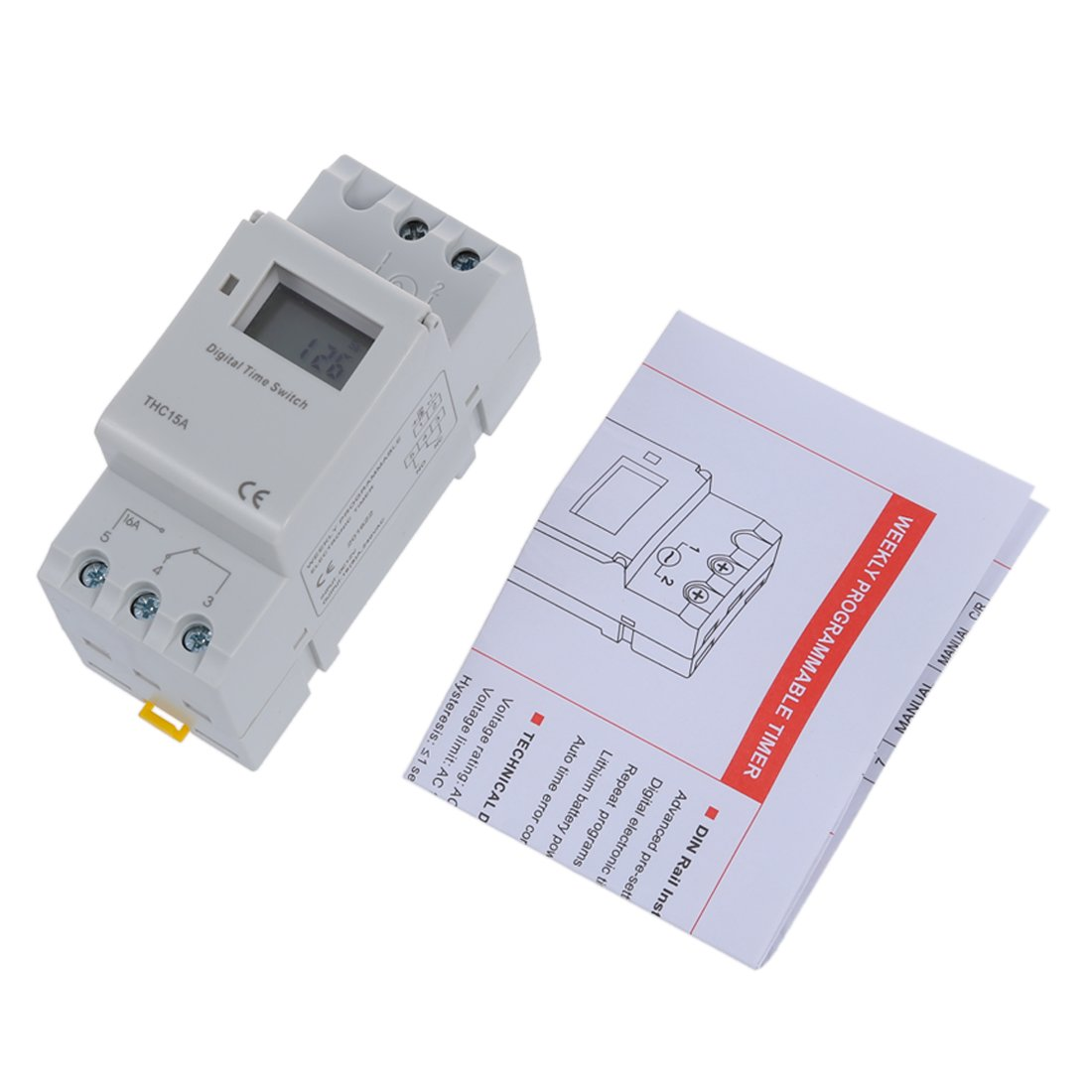 Programmable Timer Sodial Din Rail Time Relay Switch Circuit Electronics