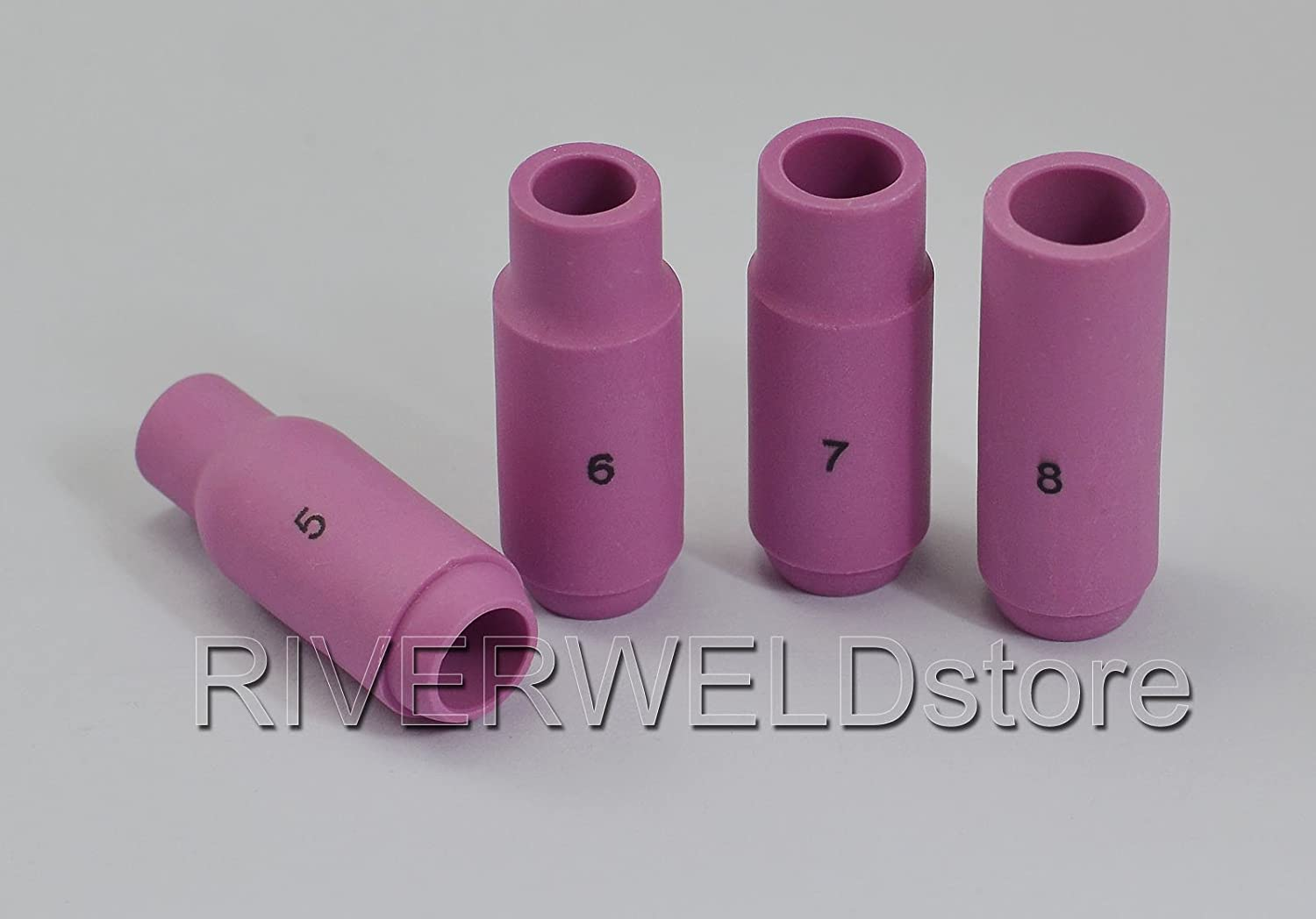 TIG Collet Body Back Cup /& 2/% Thoriated Fit DB SR WP17 18 26 TIG Welding Torch 36pcs