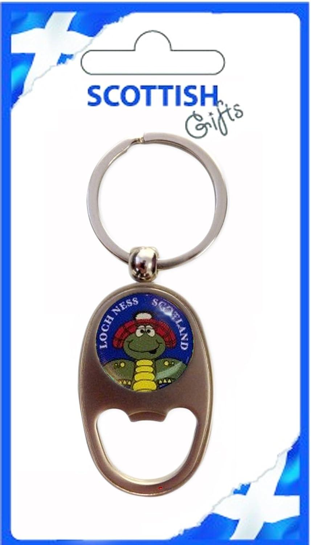 【年間ランキング6年連続受賞】 Bottle Opener Nessie Loch Keyring Scotland Loch Ness Opener Nessie Oblong Shape Souvenir Gift B007OBKR4M, 藤里町:c18d6a60 --- yelica.com