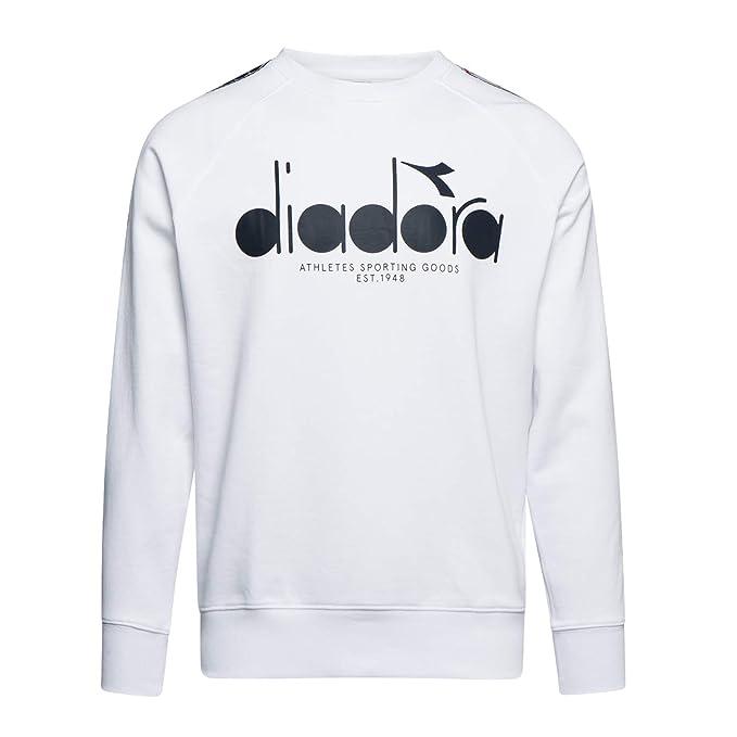 Diadora - Vellón Sweatshirt Crew 5PALLE Offside para Hombre ...