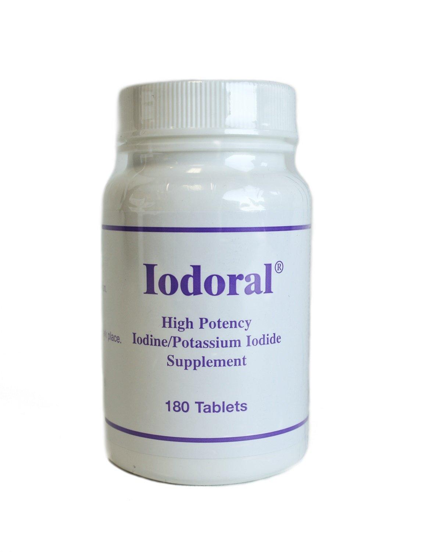 Optimox - Iodoral 高カリウム ヨウ素/ヨウ化を補う - 180錠剤 B01DIXRQG6