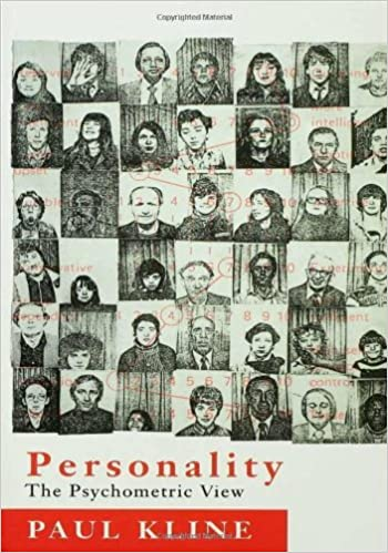 Book Personality: The Psychometric View by Paul Kline (1993-07-01)