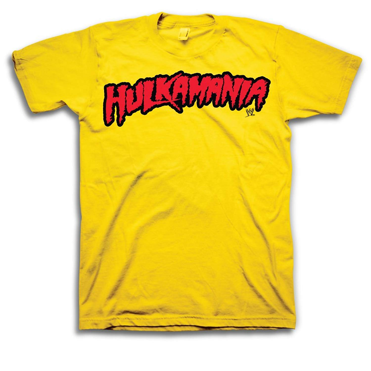 WWE Hulk Hogan Hulkamania Adult T-Shirt