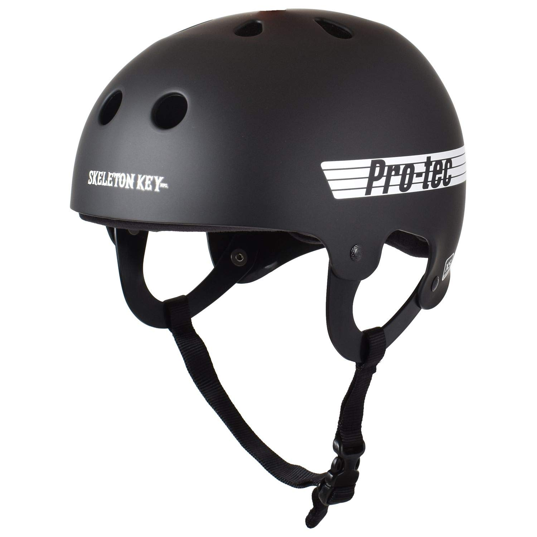 Pro Tec Skeleton Key Old School Helmet - Black - LG