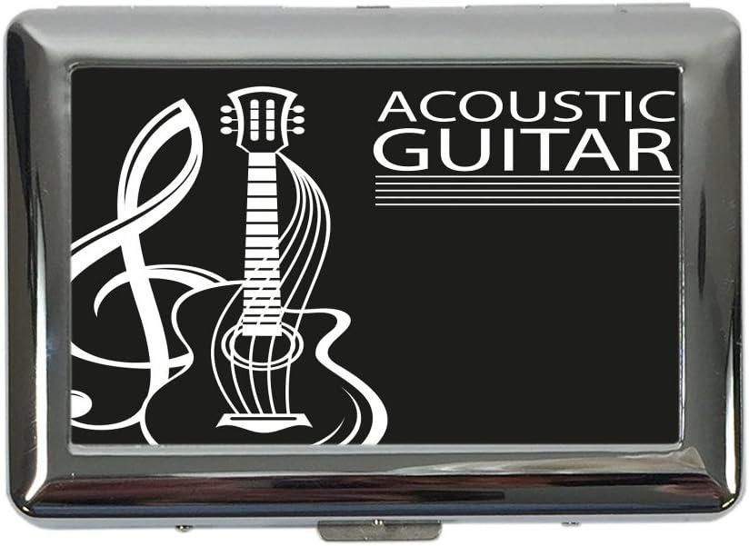 pitillera cigarrera Estrella Guitarra acústica impreso: Amazon.es ...