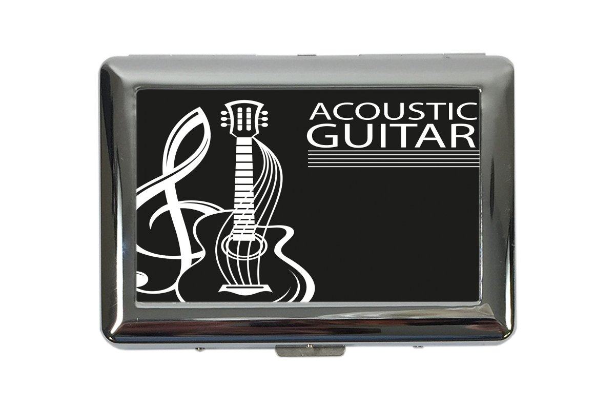 pitillera cigarrera Estrella Guitarra acústica impreso 300EQ57658636