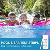 100 Count 6-Way Swimming Pool Test Strips Spa