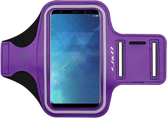 Sport Armband w//Key Holder Slot J/&D Armband Compatible for Galaxy S10 Plus//S10+//S10 5G//S9 Plus//S8 Plus//Note 8//Note 9//iPhone Xs Max//XR//8 Plus//7 Plus//6 Plus//6S Plus//LG X Power 3 Armband