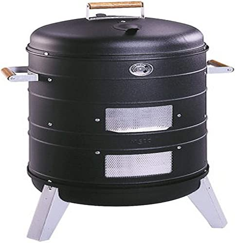 Americana Charcoal Combo Water Smoker that converts into a Lock n Go Grill