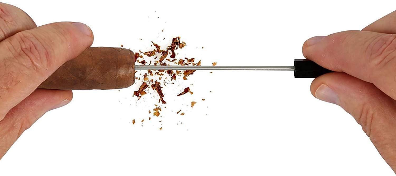 PerfecDraw Patented Precision Cigar Draw Enhancer Tool & Nubber