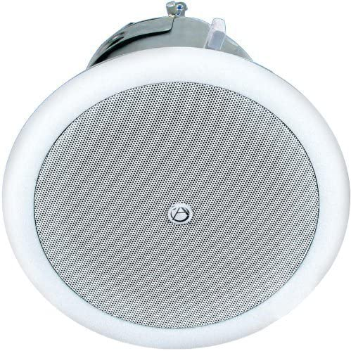 Atlas Sound FAP42T 4 quot; Coaxial Speaker System with 70.7V//100V-16W Transformer and 8Ohms Bypass Pair
