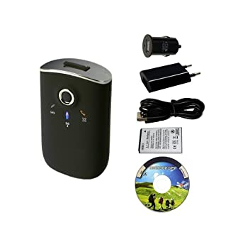 GT-750FL Bluetooth GPS registrador de datos + cargador 100 ...