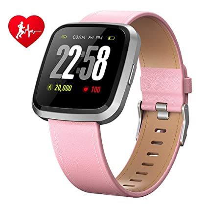 Reloj elegante, Fitness Salud 2en1 Hombres Mujeres con SmartWatch ...