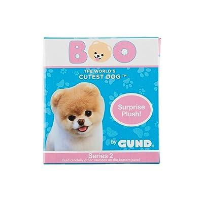"GUND 4061287 World's Cutest Dog Boo Surprise Stuffed Animal Plush Blind Box Series #2: Animal Theme, Multicolor, 3"": Toys & Games"